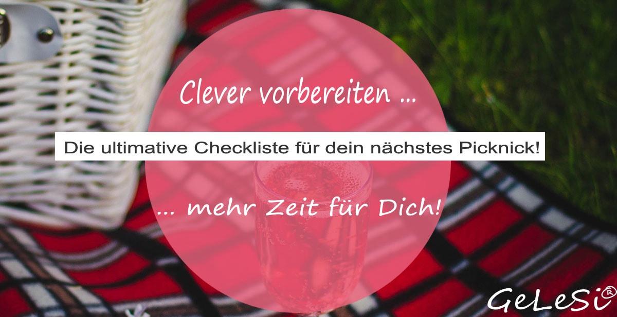 Die ultimative Checkliste für dein nächstes Picknick