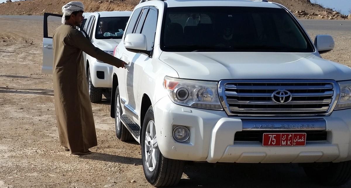 Jeep Safari durch die Region Dhofar im Oman