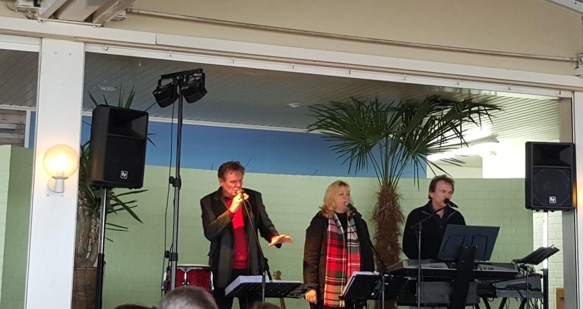 Livemusik in der Strandspeiserei in Grömitz, Restaurant Tipp von GeLeSi