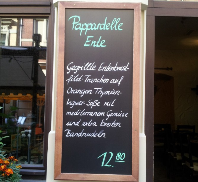 Restaurant zum Ritter in Halle/Saale