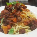 #Alltagsküche: Spaghetti Bolognese