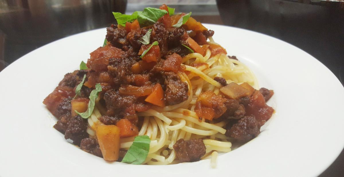 Der Klassiker: Spaghetti Bolognese