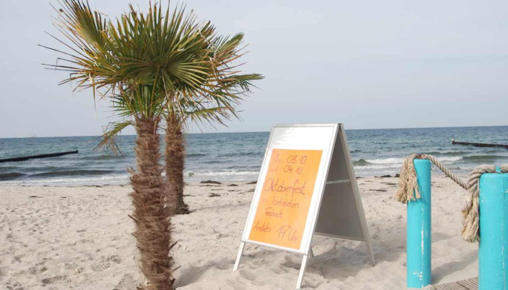 Strandoase Markgrafenheide - Einladung zum Oktoberfest