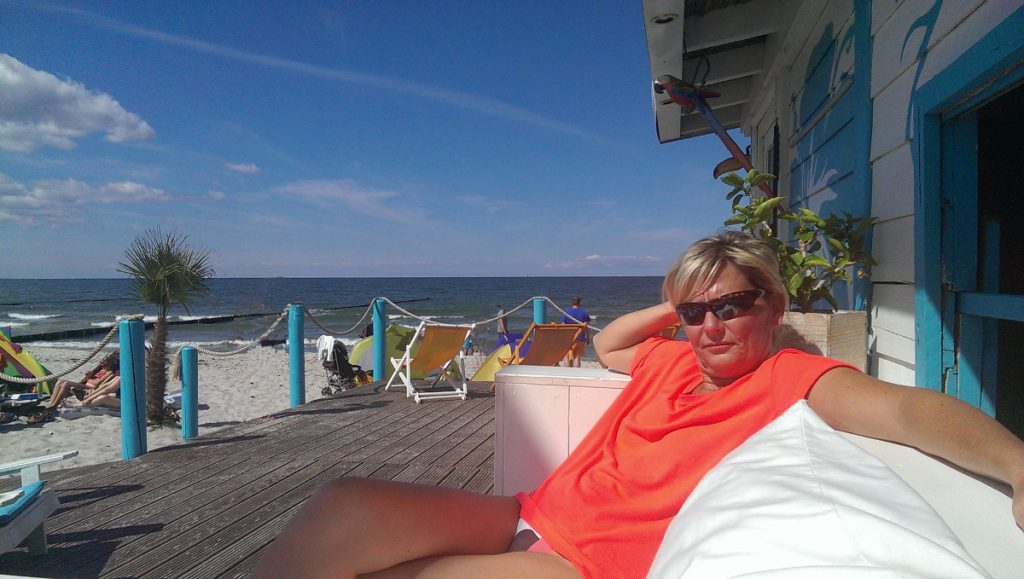 Manu Aust zu Gast in der Strandoase Markgafenheide
