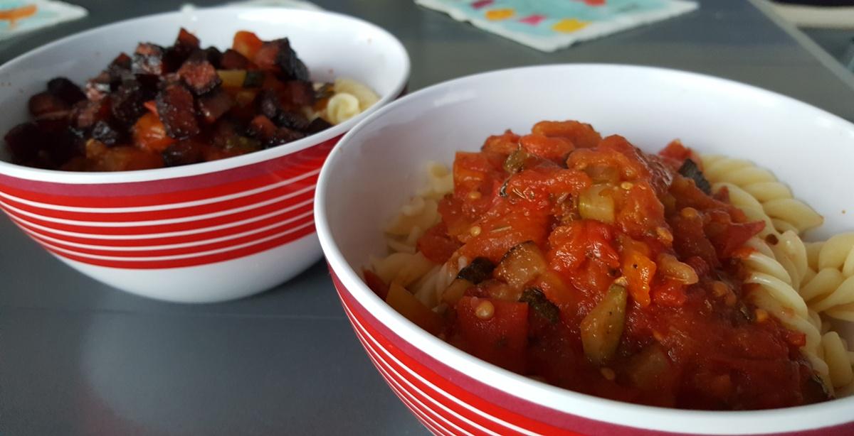 Tomatensoße – richtig fruchtig gelingt diese nur im Süden