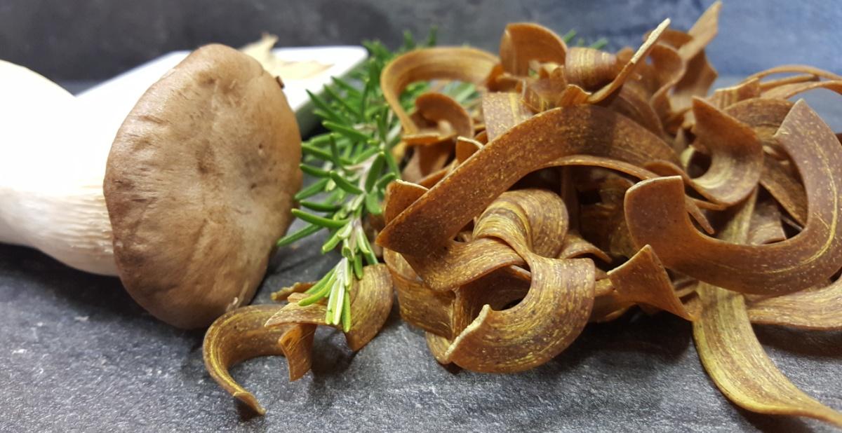 Waldpilzpasta von Pastatelli mit Krauterseitlingen