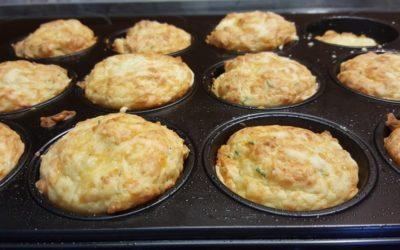 herzhafte Käse Schinken Muffins