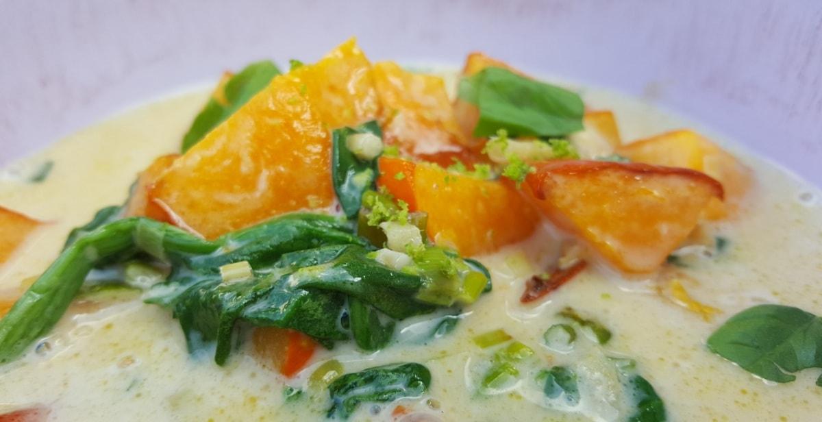 fruchtiges Curry vom Hokkaido Kürbis