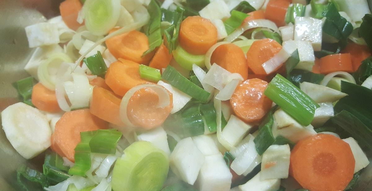 Rezept für Gemüsebrühe