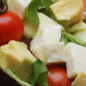 Tomaten Acocado Salat Rezept