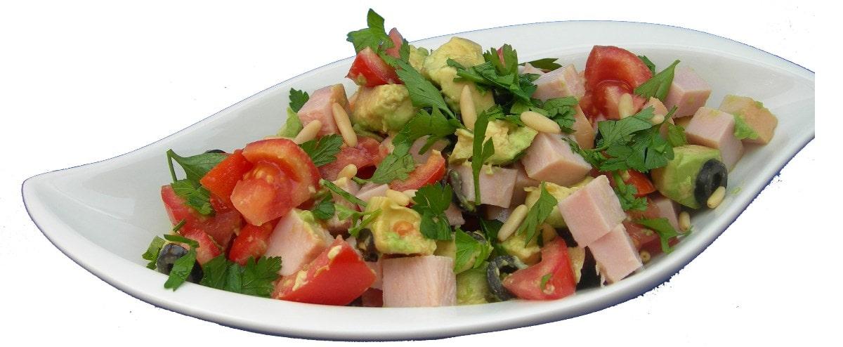 Geflügel-Avocado-Salat