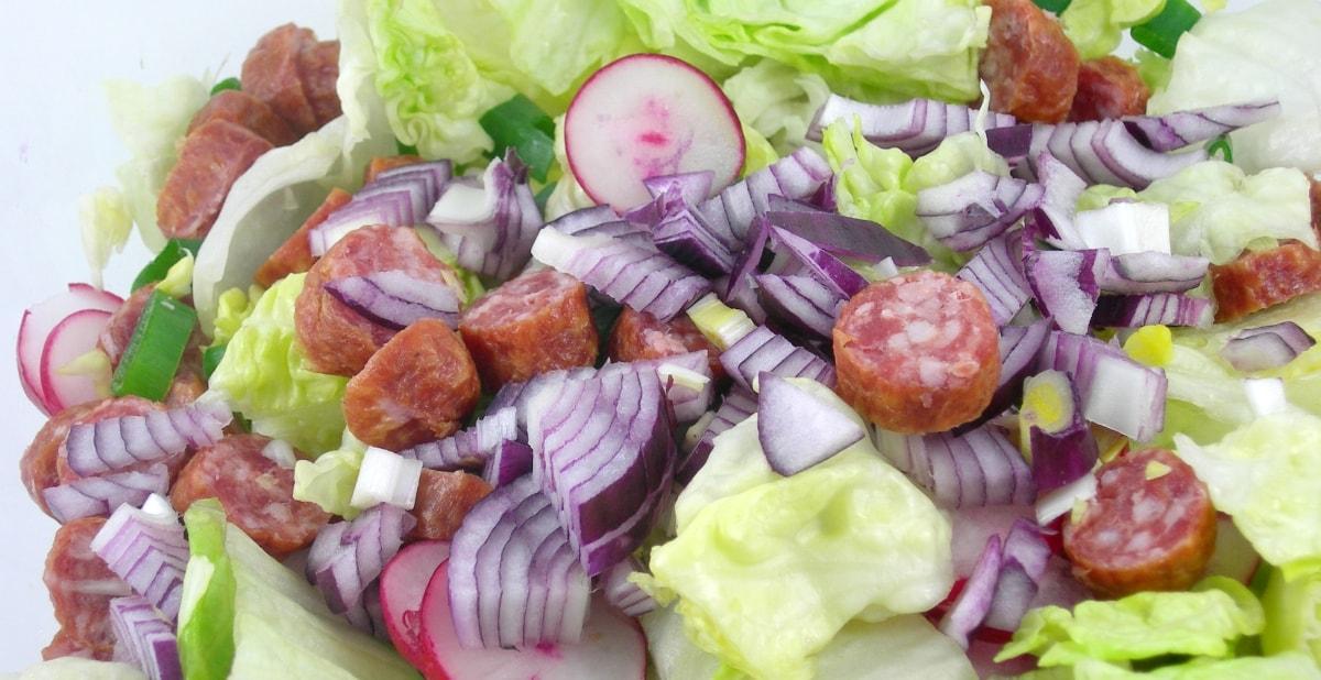 Bierknacker Salat
