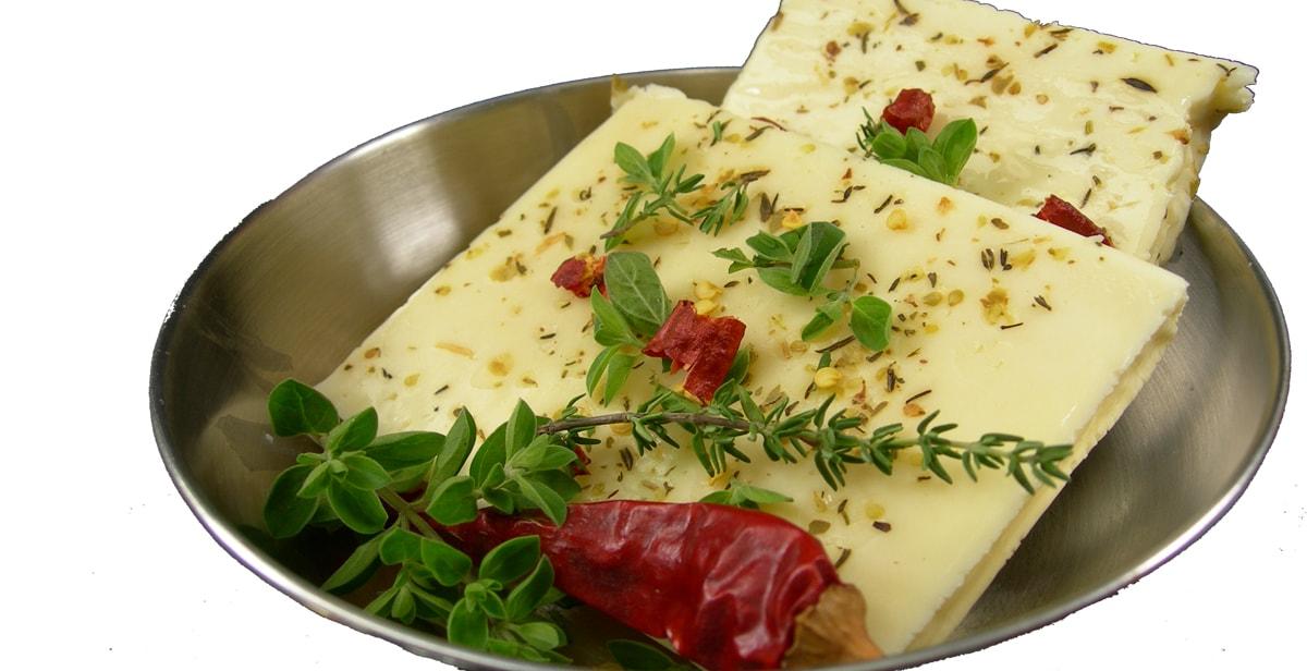 marinierter Halloumi für den Grill oder die Bratpfanne