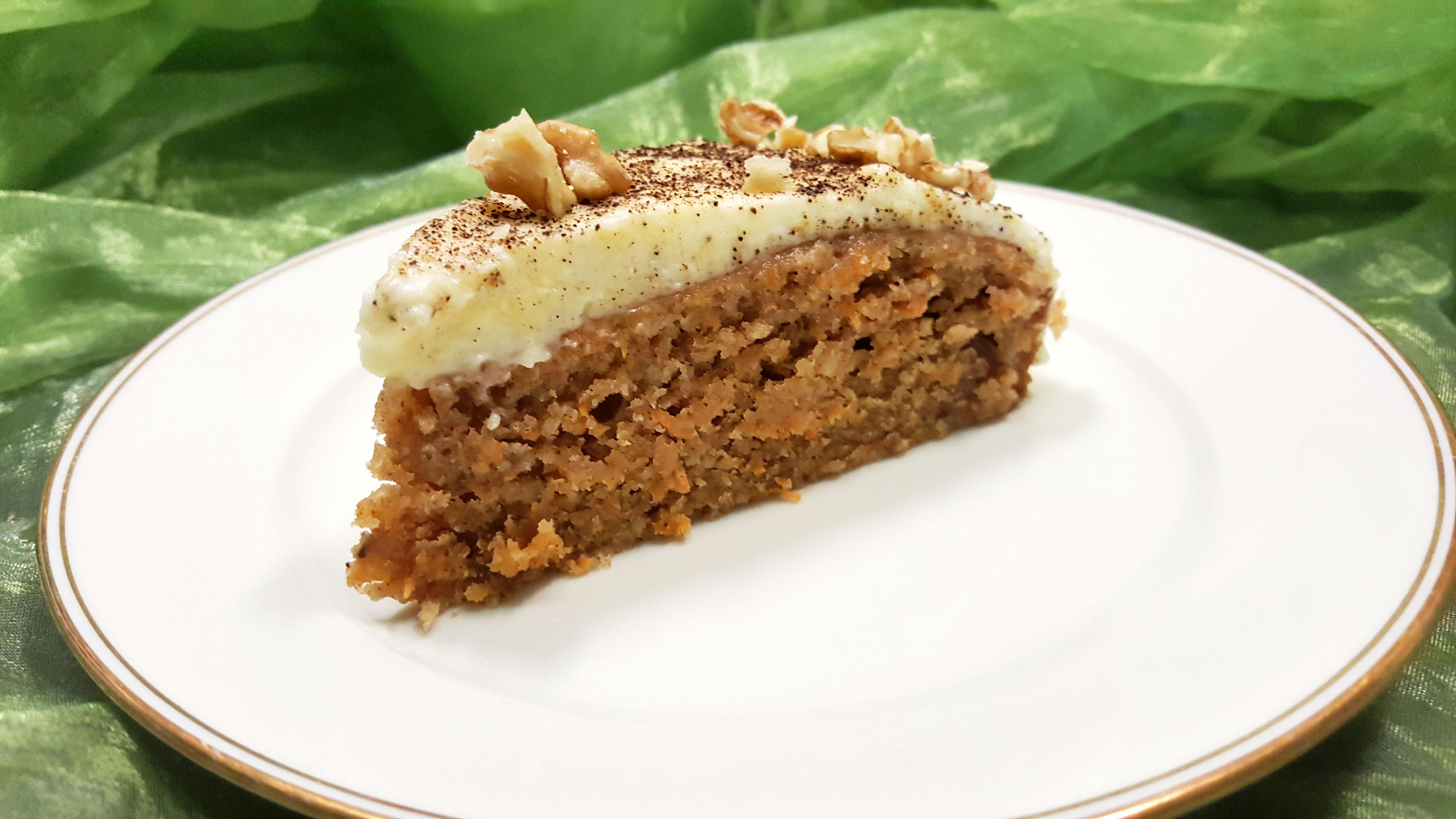 Rezept für Karottenkuchen / Carote Cake