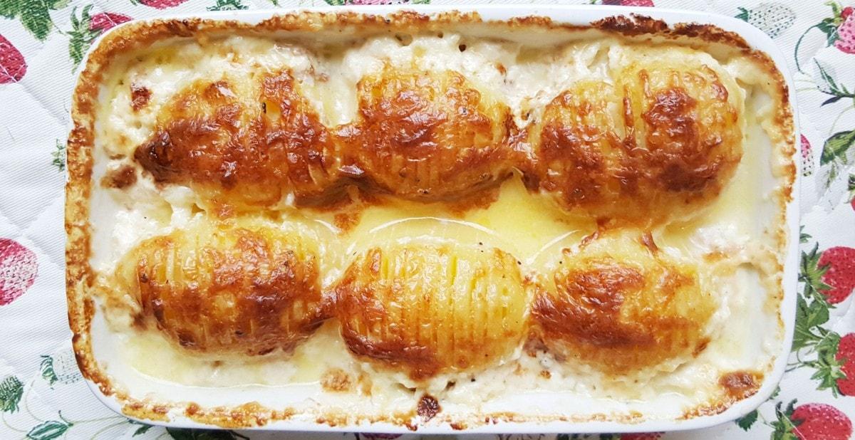 Rezept für gebackene Schwedische Kartoffeln