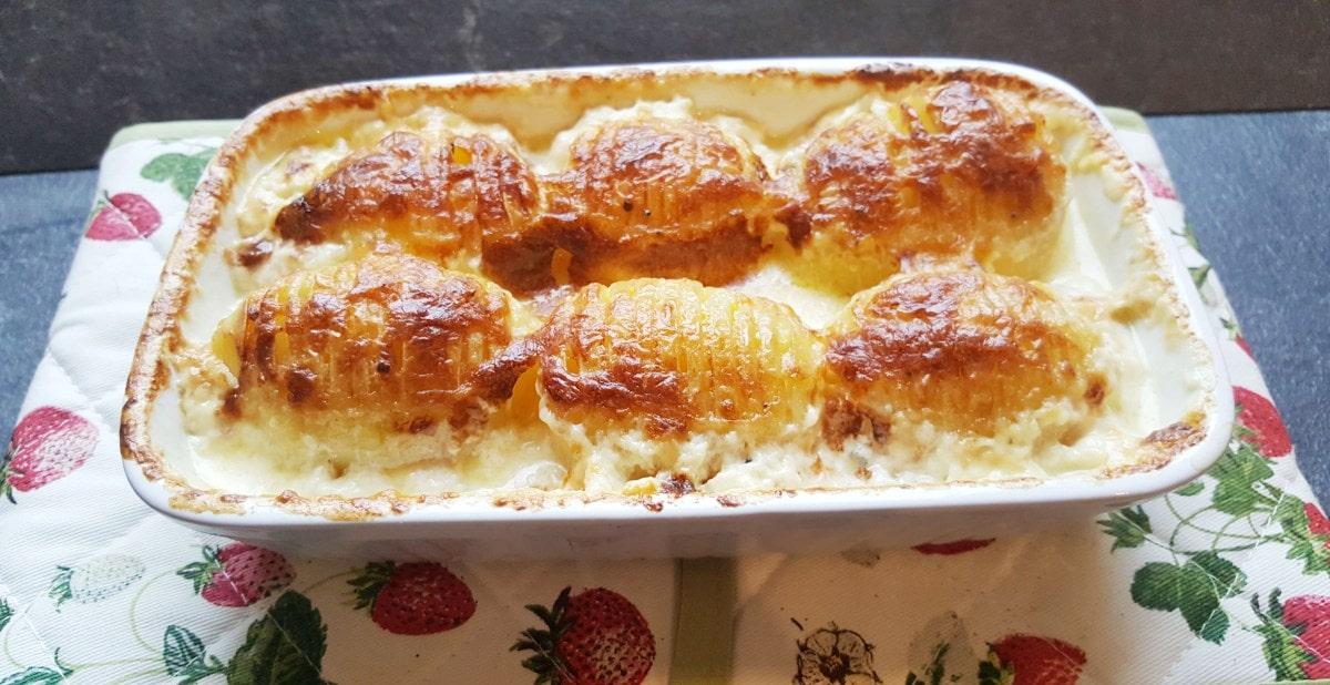 Mein Rezept für gebackene Schwedische Kartoffeln