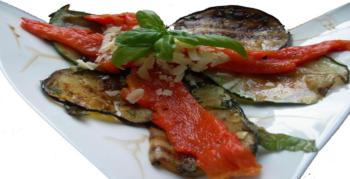 Italienische-Grill-Antipasti
