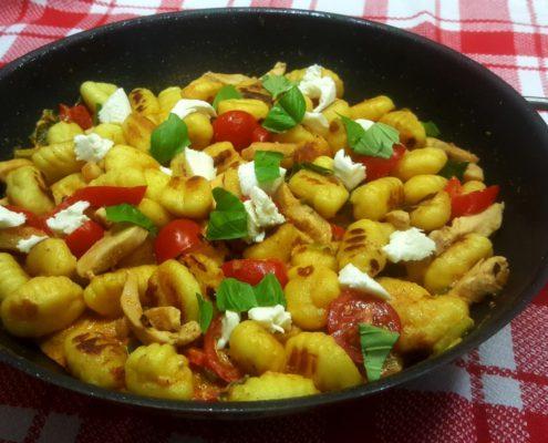 Gnocchi Pfanne - ein einfaches und schnelles Rezept