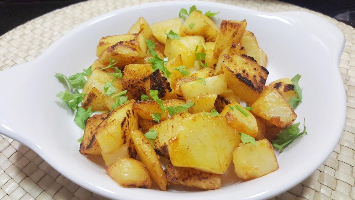 schnelle Röstkartoffeln als Beilage