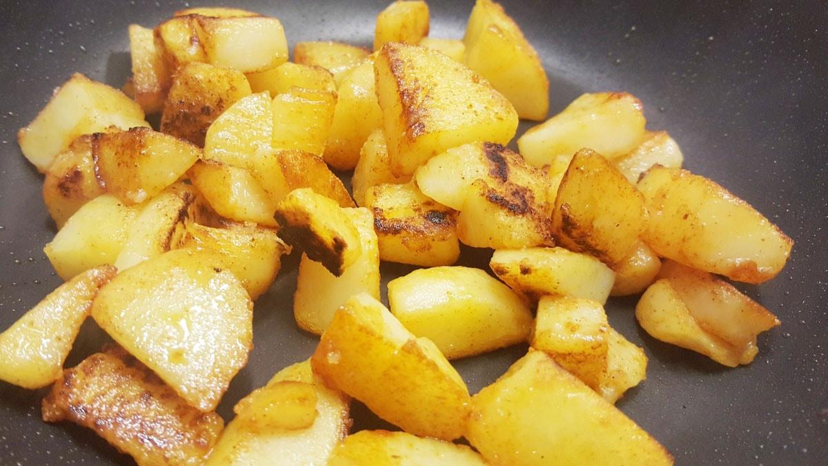 einfaches Rezept zur Resteverwertung von Kartoffeln