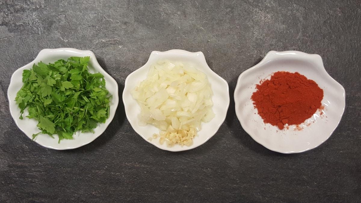 spanische Spezialität - ein schnelles Rezept für Lende und Bohnne
