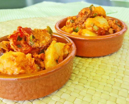 Rezept für spanischen Kartoffelsalat
