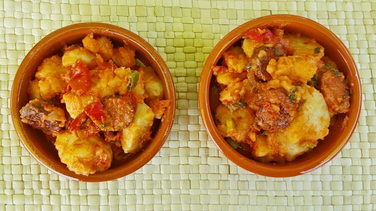 Rezept für meinen fruchtig scharfen Kartoffelsalat mit spanischer Chorizo