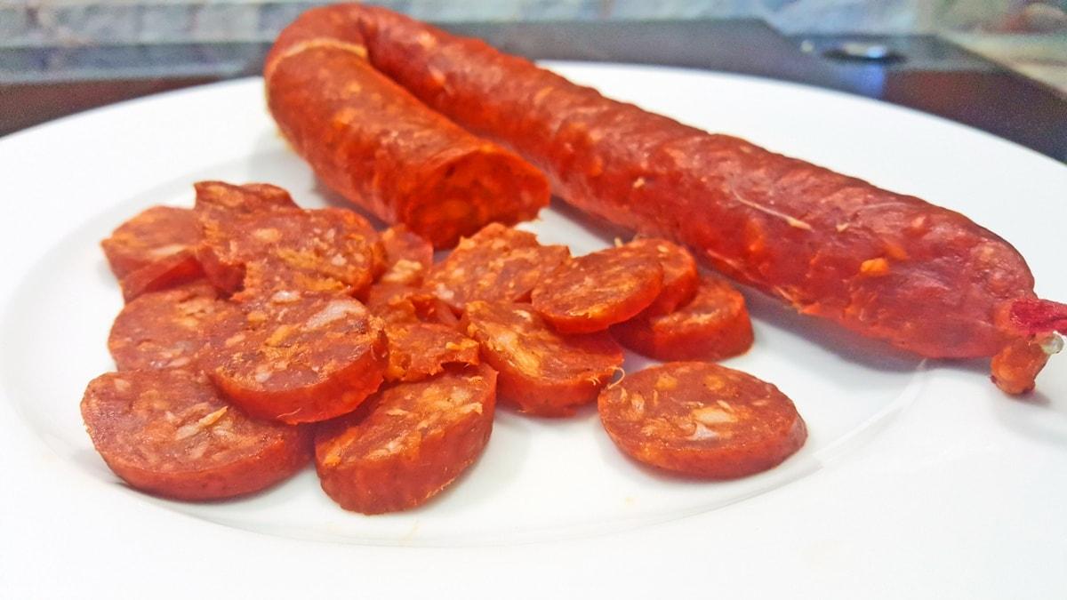 Rezept für Kartoffelsalat mit spanischer Chorizo