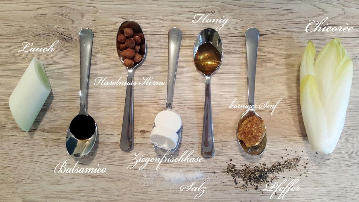 Linsensalat - die wichtigsten Zutaten