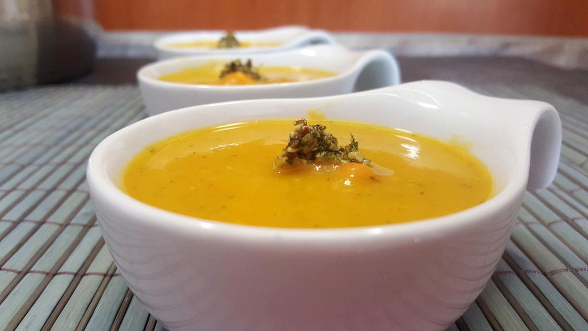 cremige Kürbissuppe Rezept einfach und schnell