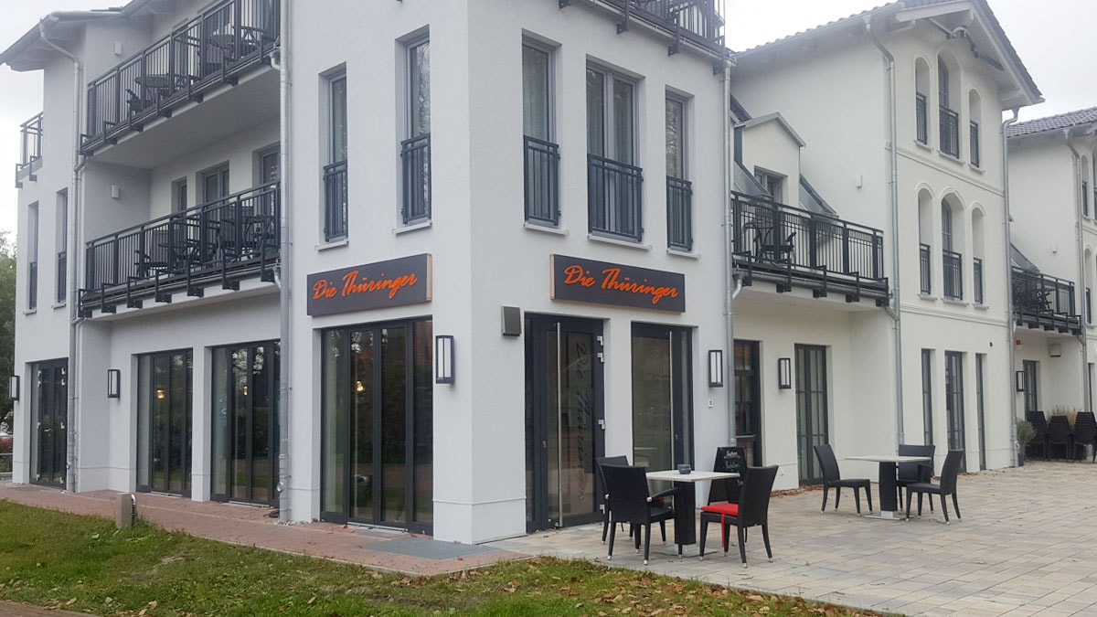 Restaurant Graal Müritz, direkt an der Seebrücke  - Die Thüringer