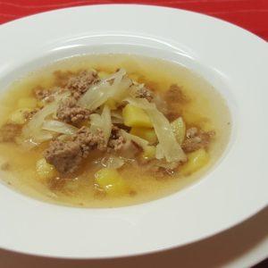 einfaches und schnelles Rezept für Weißkohlkuppe