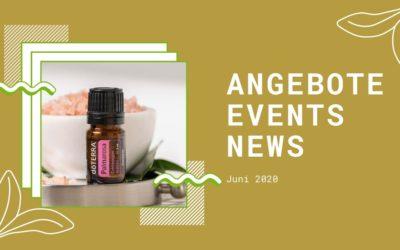 Wellness & gesunder Lifestyle: Angebote, Aktionen und News im Juni 2020