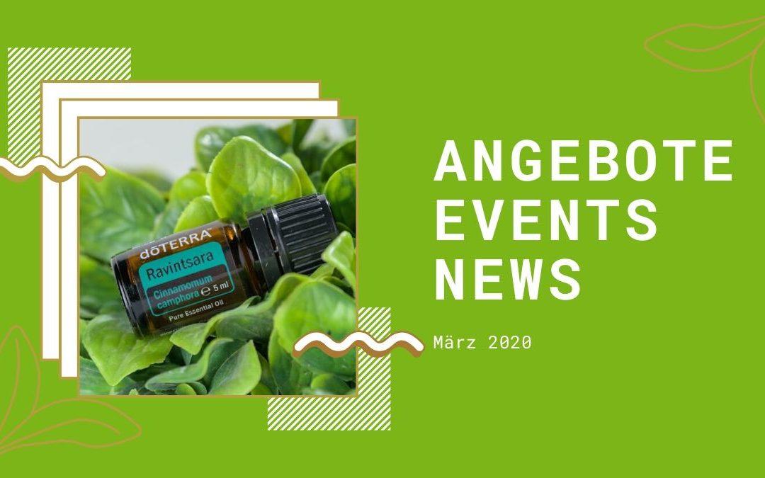 Wellness & gesunder Lifestyle: Angebote, Aktionen und News im März 2020