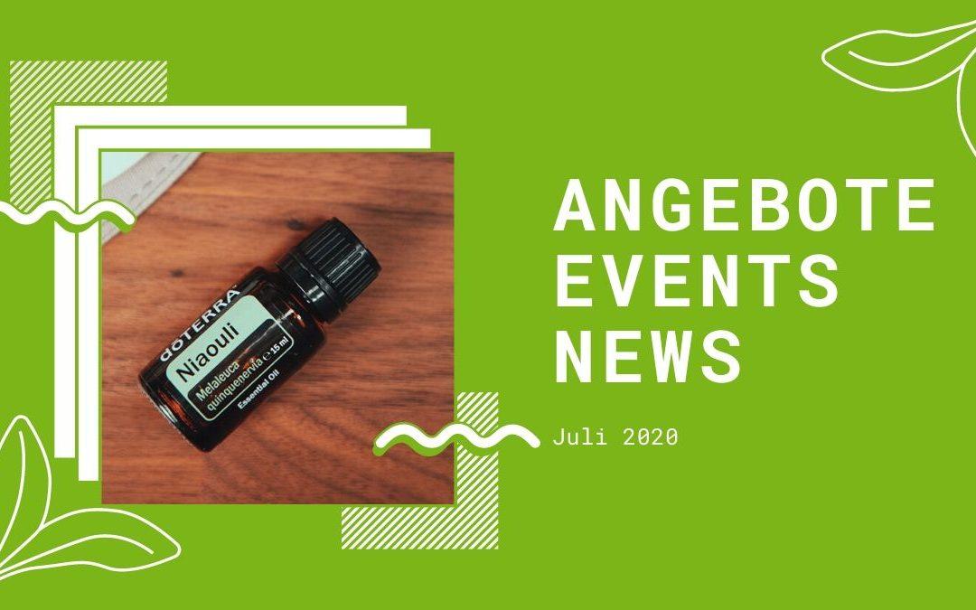 Wellness & gesunder Lifestyle: Angebote, Aktionen und News im Juli 2020