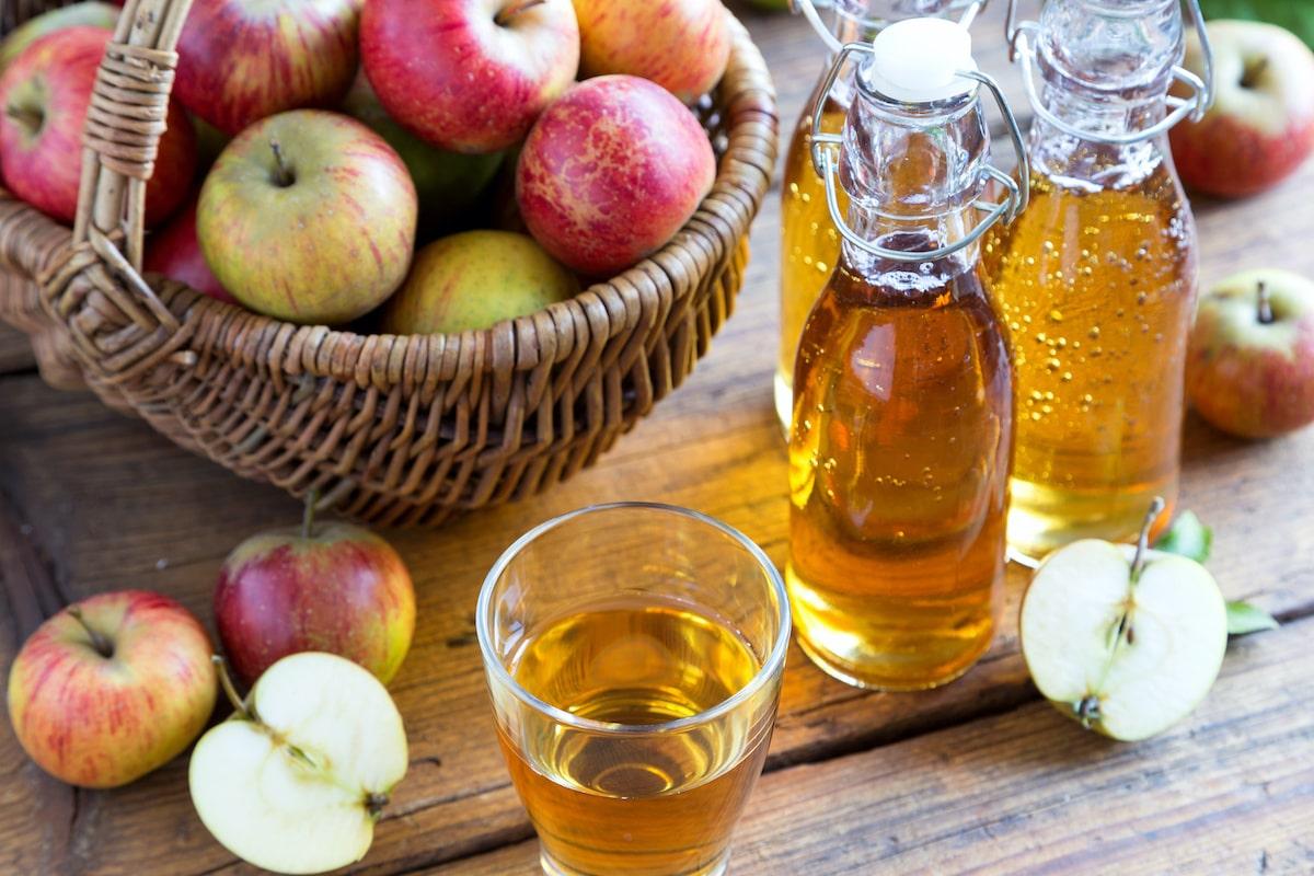 Apfelessig - gesundes Lebensmittel