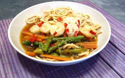 Asiatische Spargel Bowl