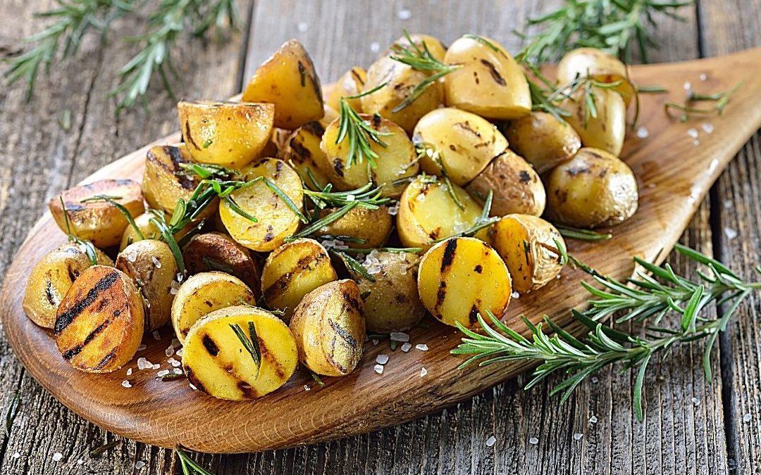 Backkartoffeln mit Rosmarin