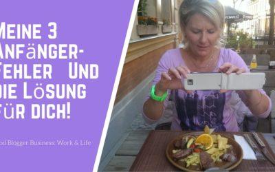 3 Dinge die ich gern gewußt hätte, bevor ich meinen Foodblog gestartet habe