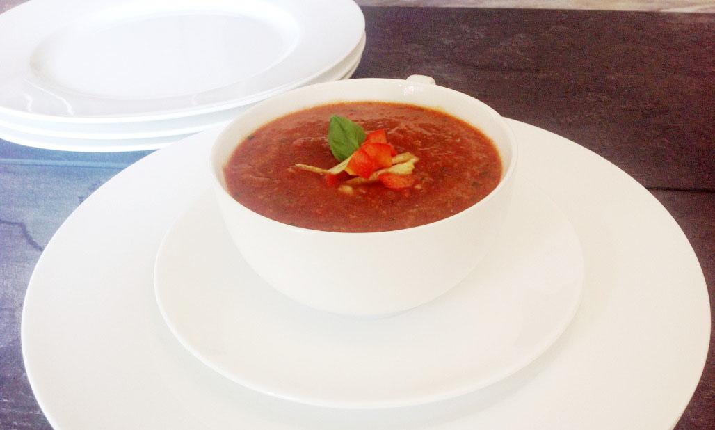 spanische Gazpacho – kalte Gemüsesuppe nicht nur für heiße Sommertage