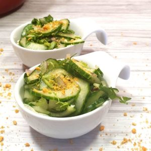Rezept für Gurkensalat im Asia Style