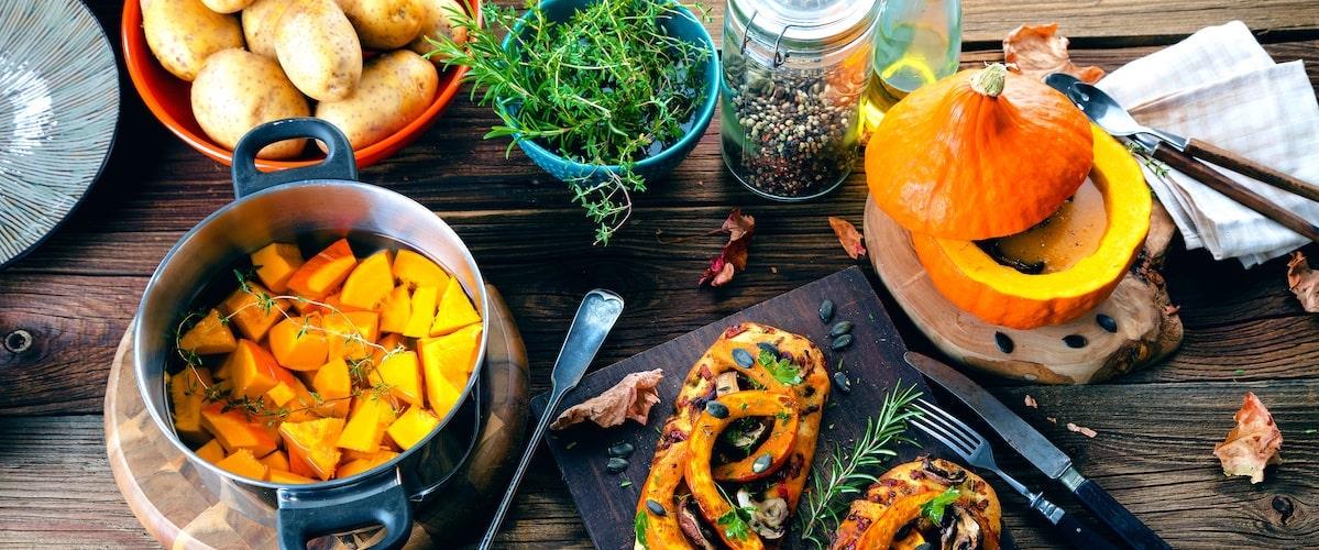 Herbst Rezepte - deftig, lecker frisch gekocht
