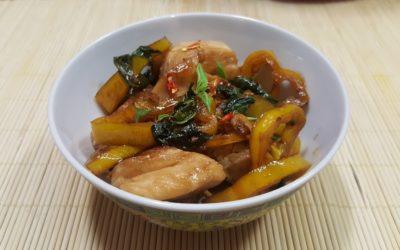 Thai Basilikum Hühnchen