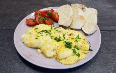 Omelett mit Käse – nicht nur zum Frühstück