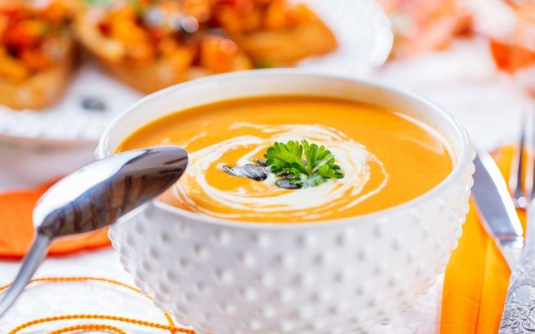 Kürbis-Ingwer-Suppe Rezept – auch zum Einkochen für den Winter