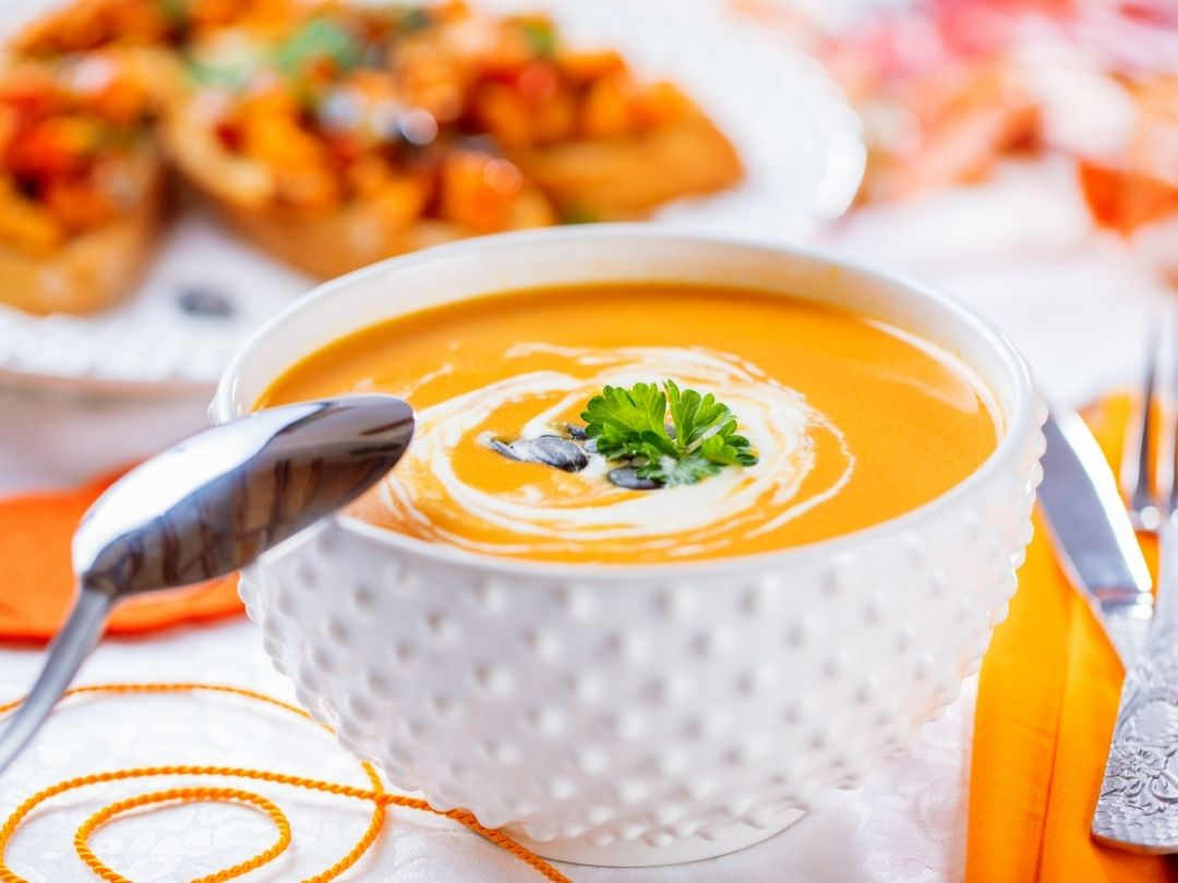 Kürbis-Ingwer-Suppe-Rezept