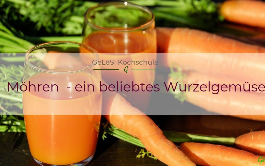 Möhre oder Karotte – immer ein beliebtes Wurzelgemüse