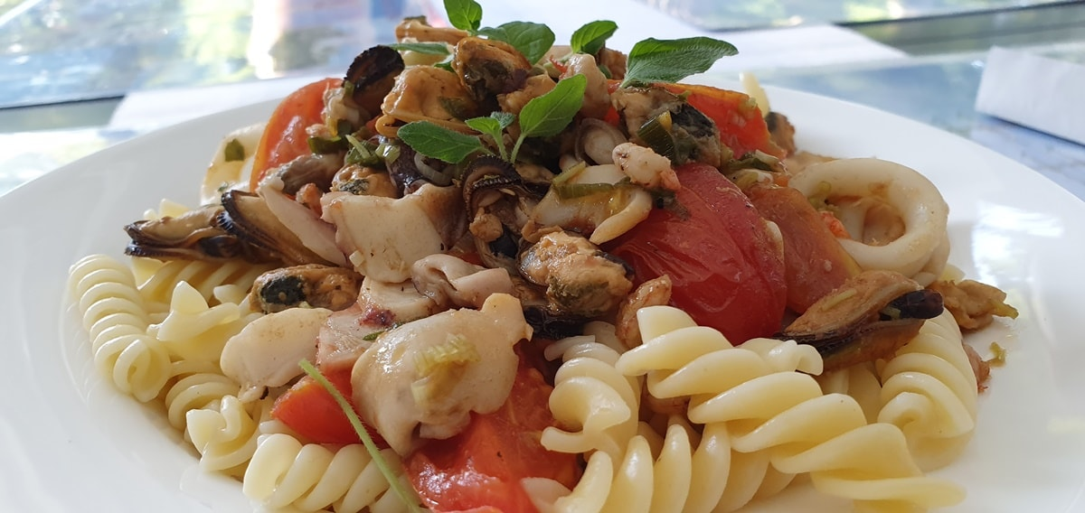 Meeresfrüchte Pasta