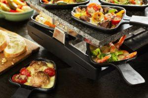 Raclette Geräte und Rezepte