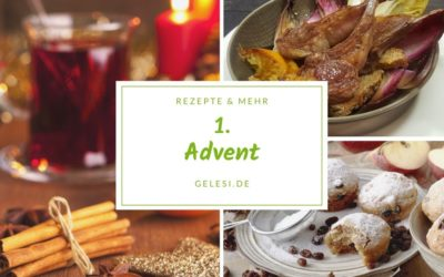 Meine Woche: Rezepte & Ideen für den 1. Advent